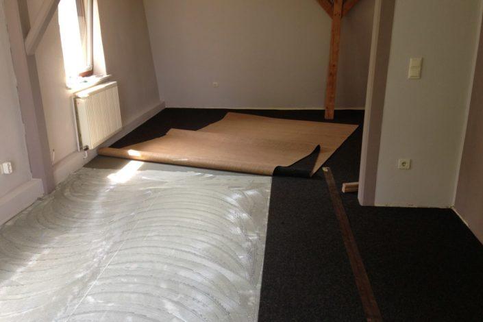 Teppichboden verlegen Sylt
