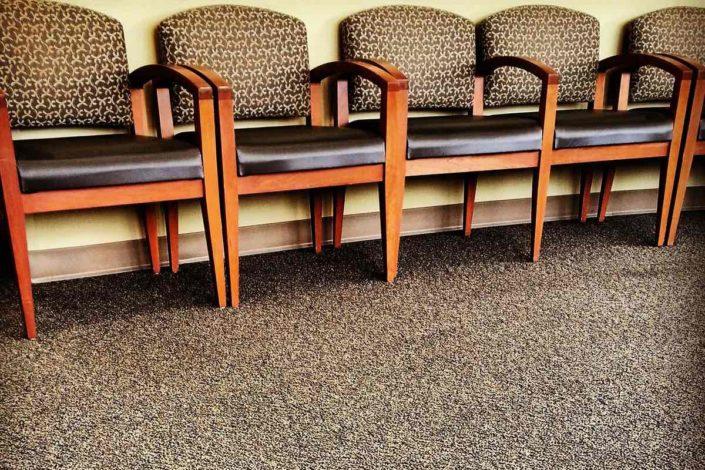 Teppich Praxis Wartezimmer